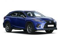 lexus rx estate 450h 3.5 f-sport 5dr cvt [pan roof] 2019 front three quarter